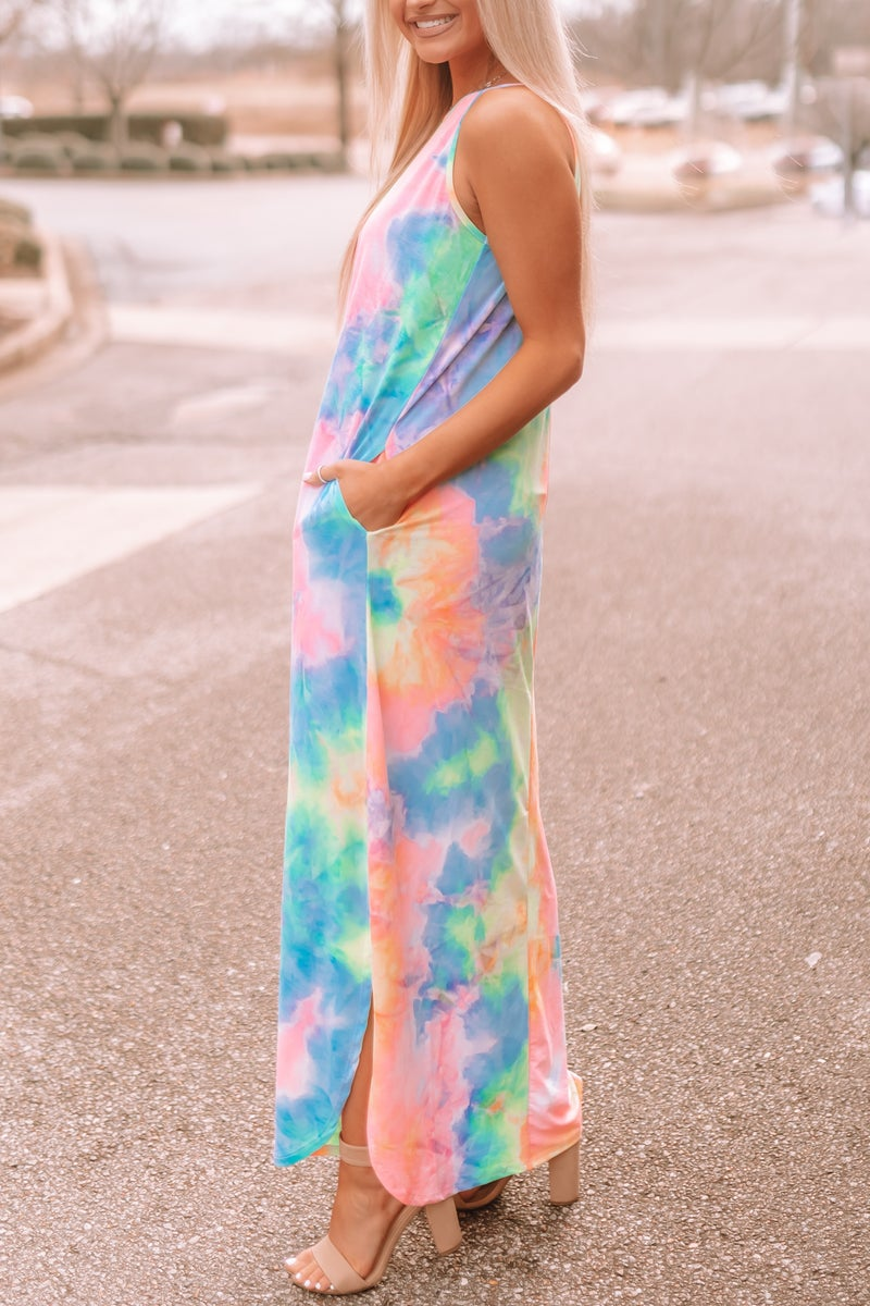 Keep In Touch Maxi Dress