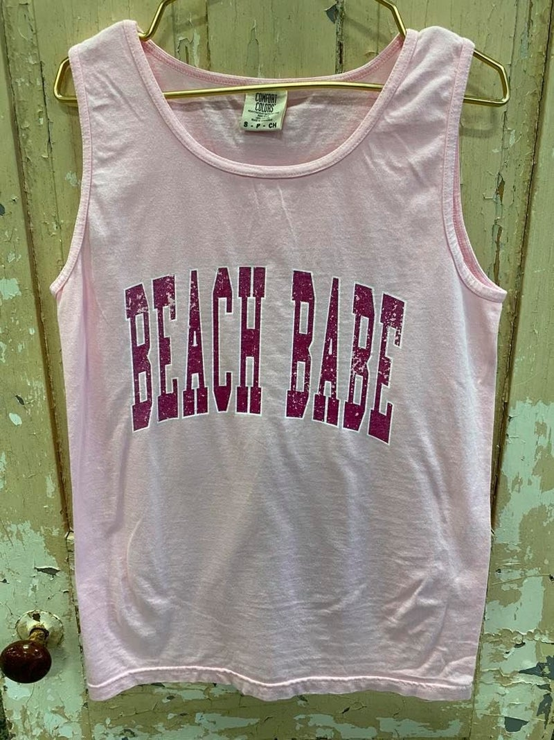 Beach Babe Graphic Tank