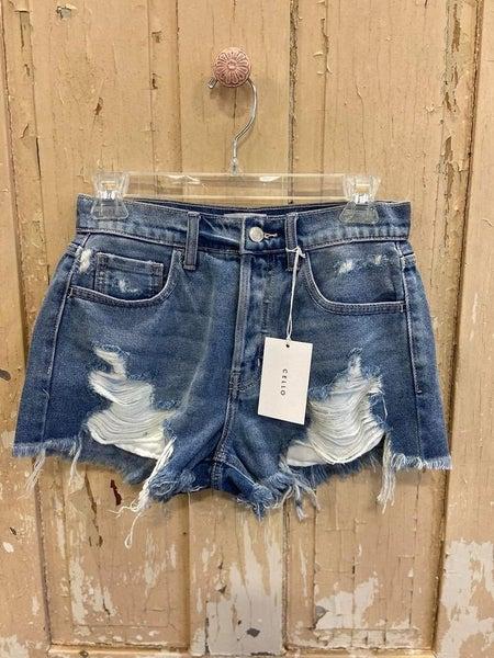 Flirtatious Smile Shorts