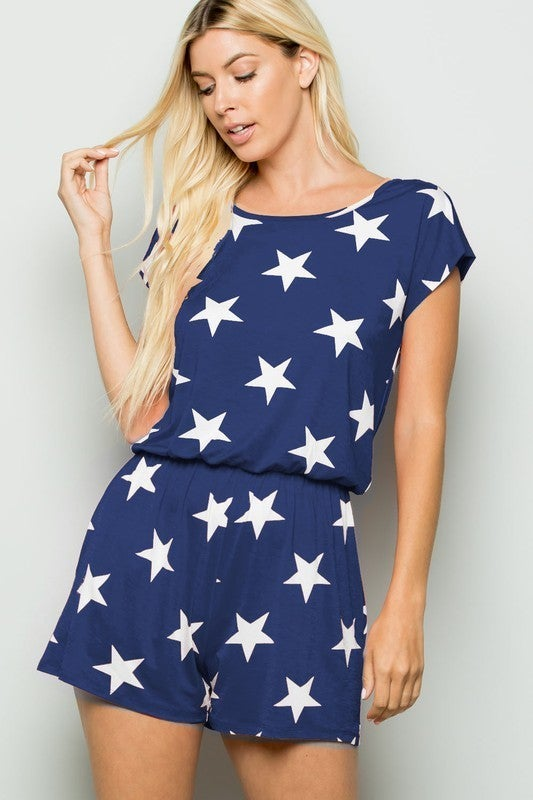 Star Crossed Romper