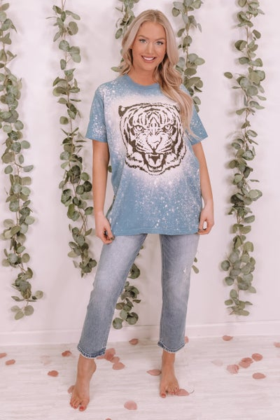 Tiger Face Graphic Tee
