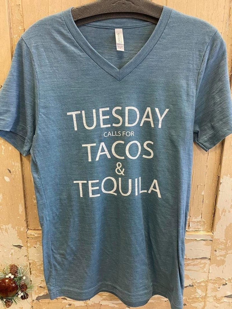 Tacos And Tequila Graphic Tee