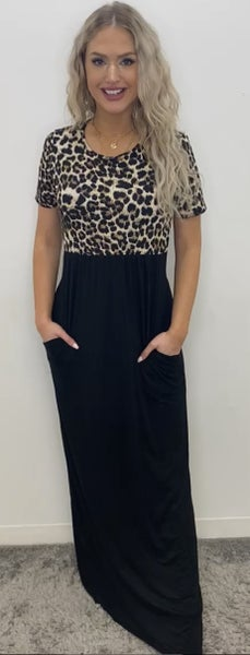 Fighting Against All Odds Maxi Dress