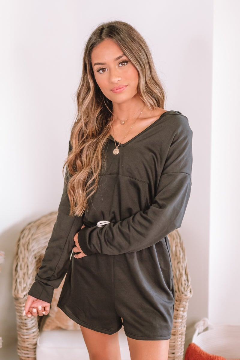 Time Is Up Romper