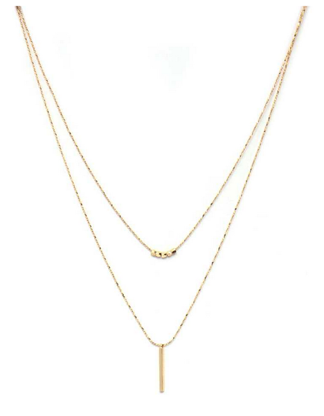 Draw The Line Necklace