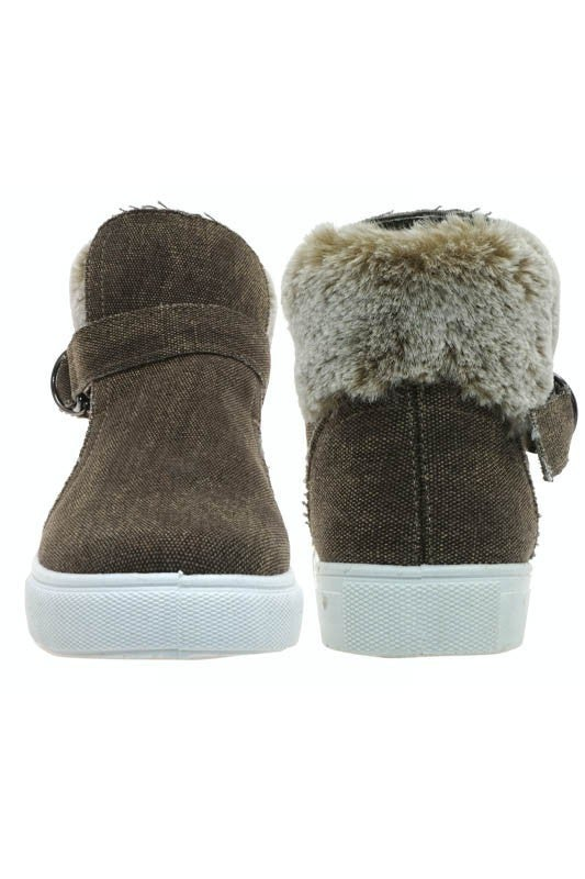Boots With The Fur Bootie
