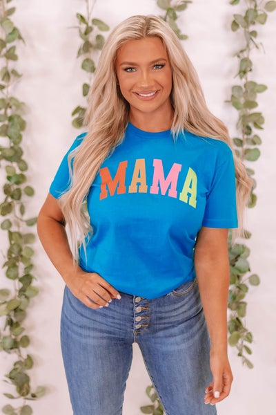 Colorful Mama Graphic Tee
