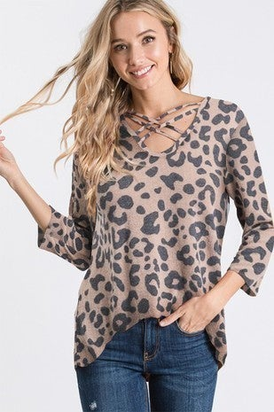 Sparkle and Roar Top