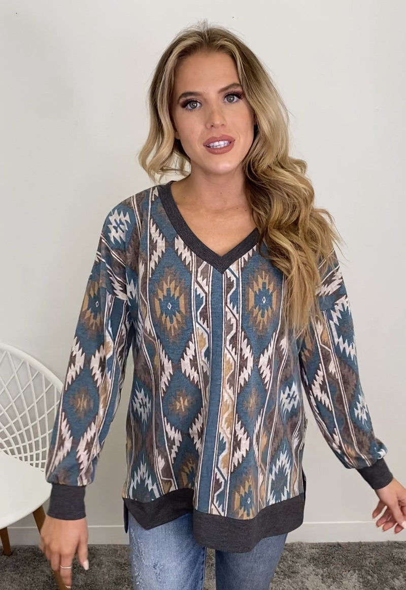 Southwest Vibes Top