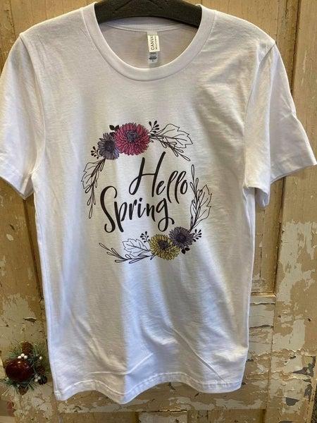 Hello Spring Graphic Tee