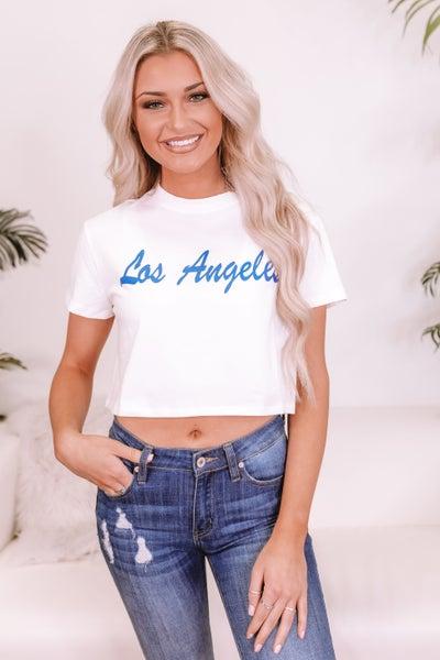 Los Angeles Crop Top