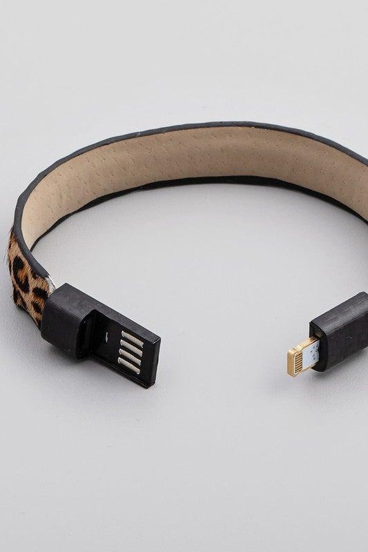 Power House USB Charging Bracelet