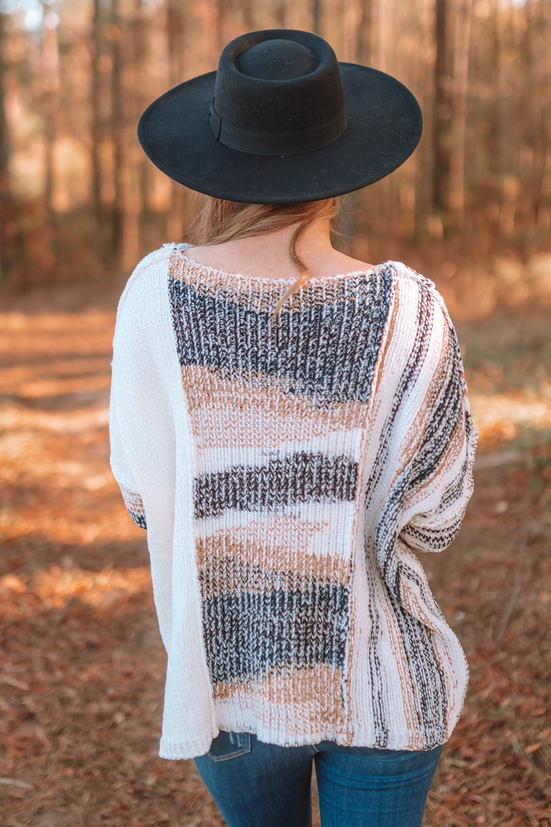 All Mixed Up Sweater