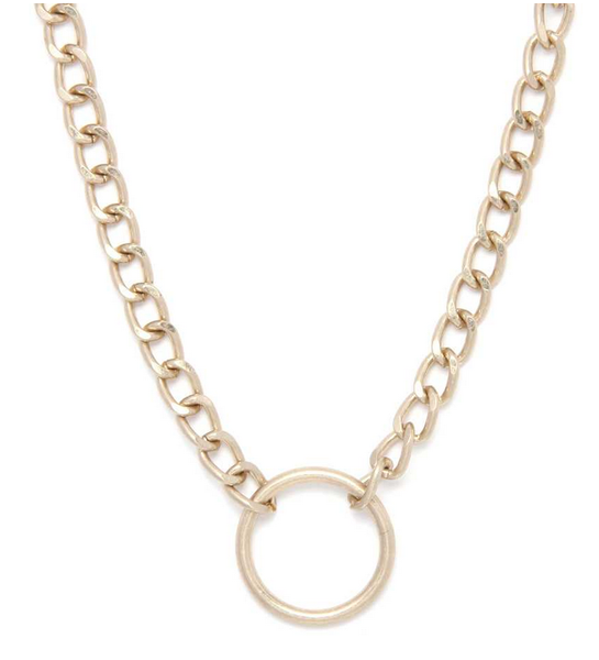 Life Is A Circle Necklace