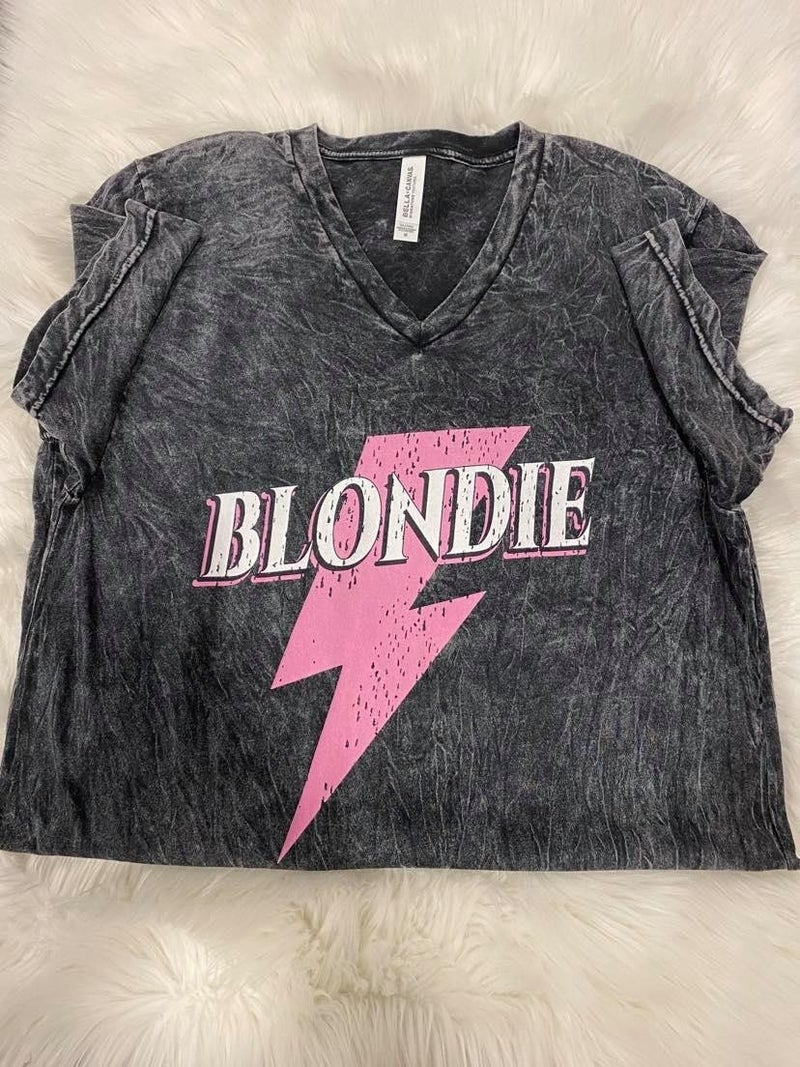 Blondie Bolt Graphic Tee