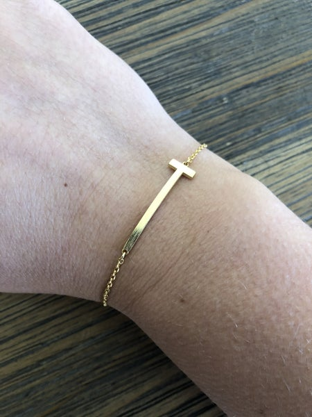One and Only Initial Bracelet