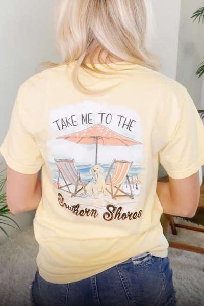 Take Me To The Shores Graphic Tee