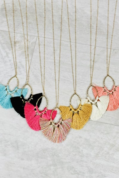 Such A Tassel Necklace