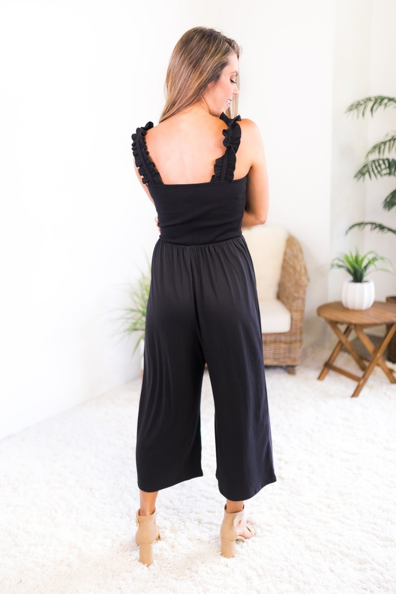 Don't Really Care Jumpsuit