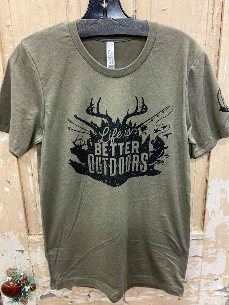 Better Outdoors Graphic Tee