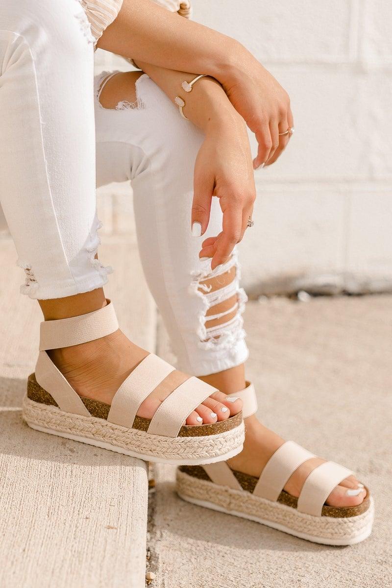 Stomp On It Platform Sandal