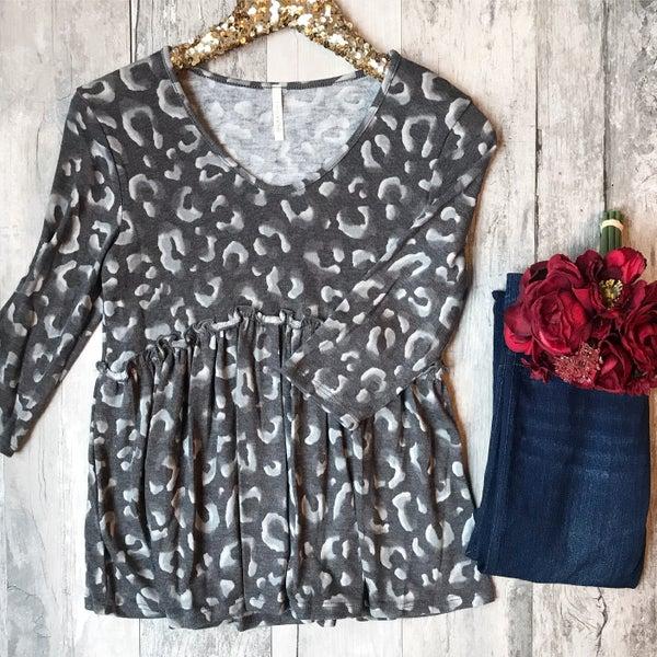 Cheetah Print Soft Sweater