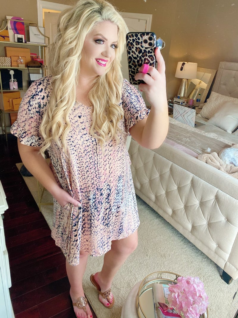 Gilmore Girls Peach Soft Dress