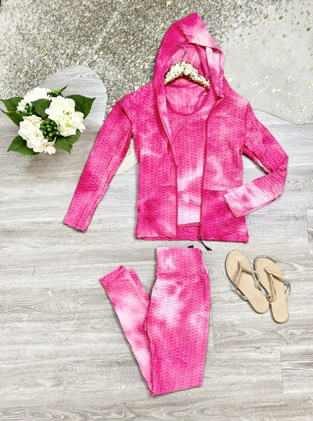 Everything's Coming Up Roses 3 Piece Pink Set