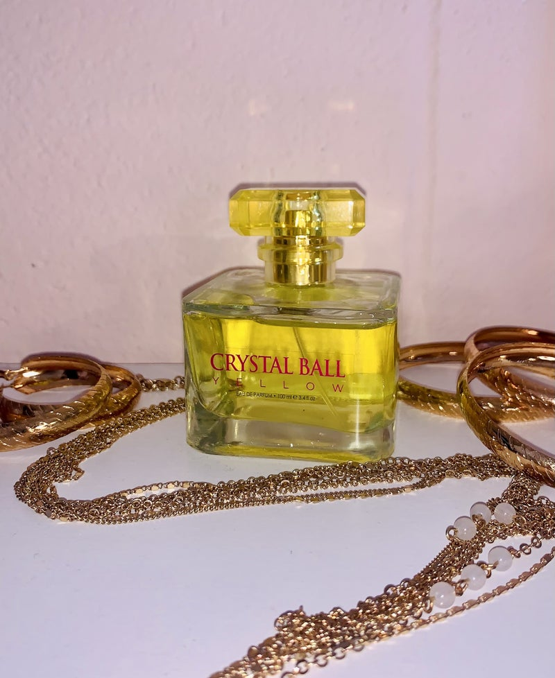 YELLOW CRYSTAL BALL Fragrance for Women
