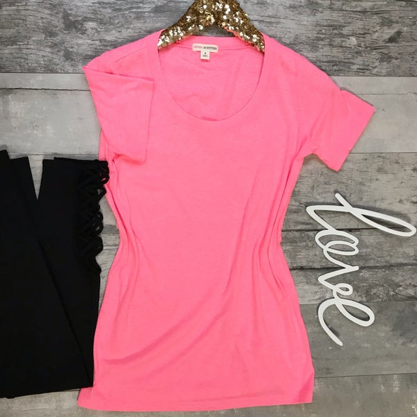 Pink Neon Tee