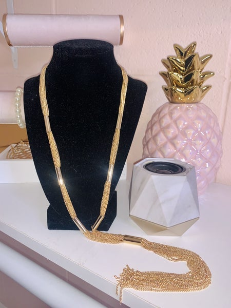 Truth by Tassel Long Necklace