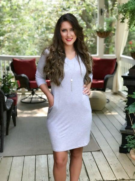 Heather Grey Dress