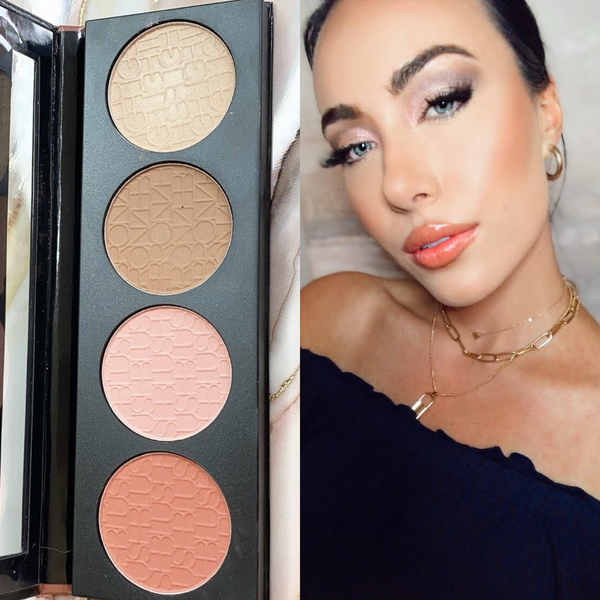 Beauty by Brittany Contour Blush Highlighter Palette  SPICE *Final Sale*
