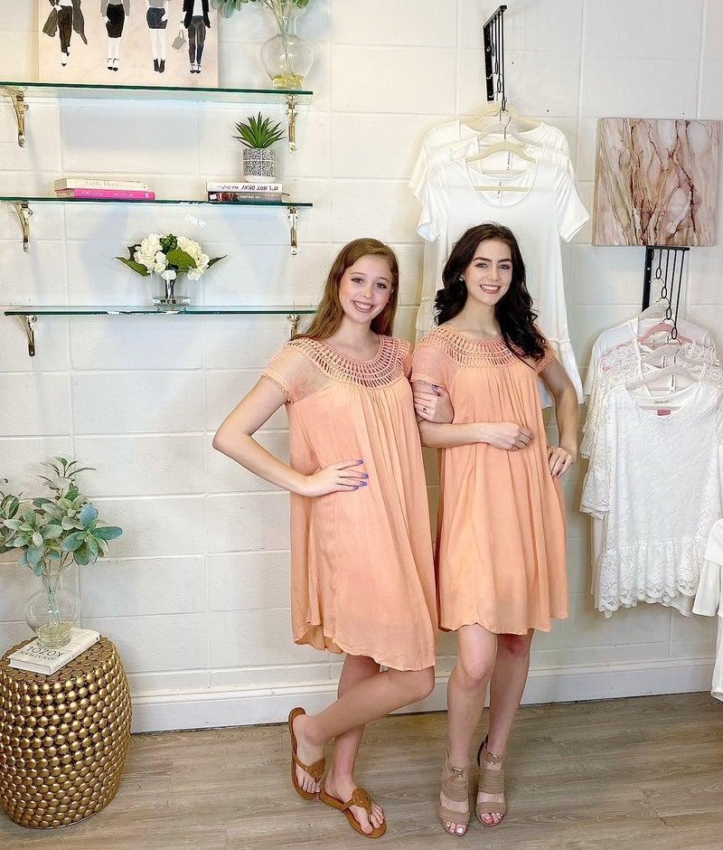 Dancin Dainty Coral Dress