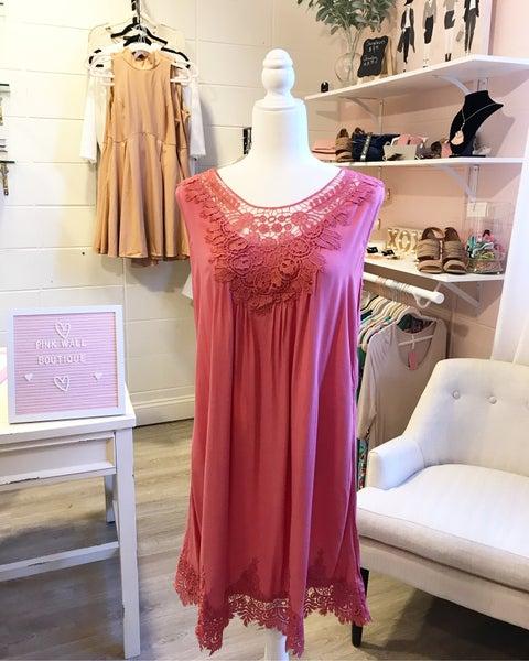 Rose Lace Dress