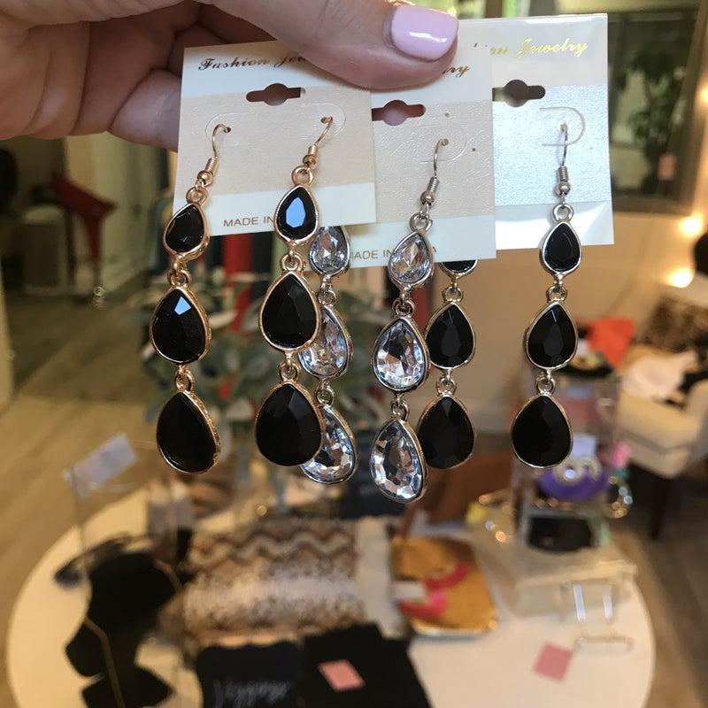 Dangle Jewel Earrings