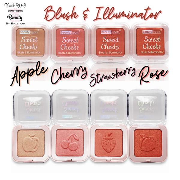 Beauty by Brittany Sweet Cheeks Blush & Illuminator *Final Sale*