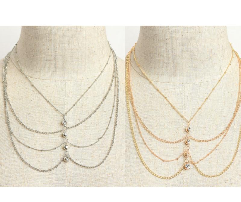 Tier Necklace *Final Sale*