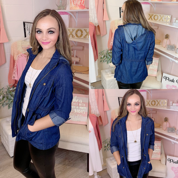 These Are The Nights Denim Jacket