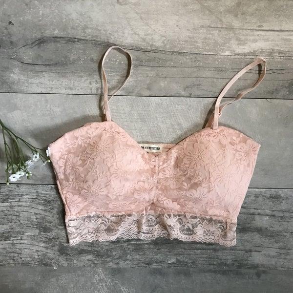 Baby Pink Lace Bralette *Final Sale*