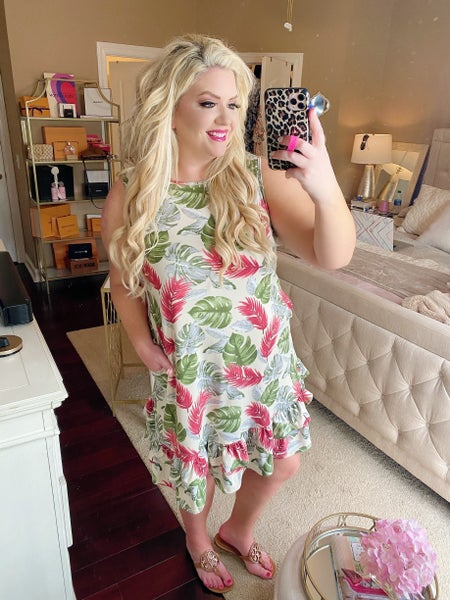 Floating In Hawaii Tropical Dress
