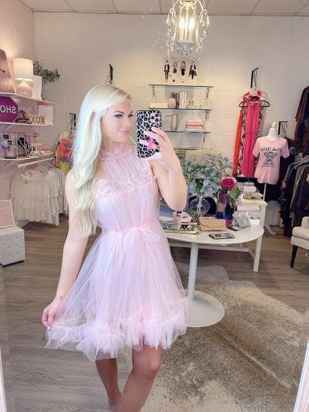 Lace Pink Dress
