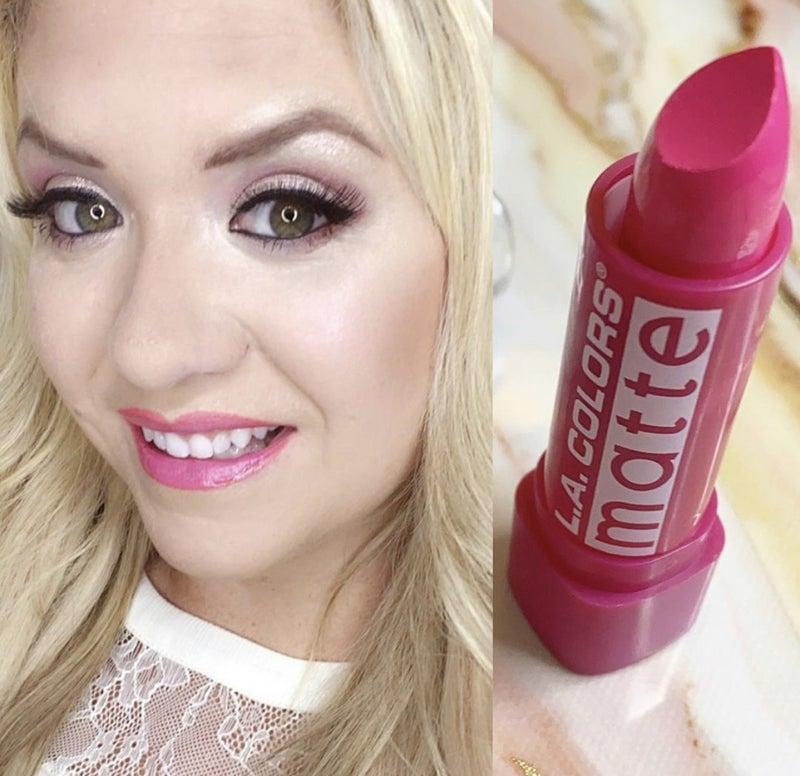 Beauty by Brittany Fuchsia Matte Lipstick *Final Sale*