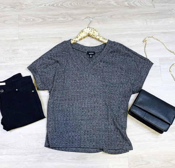 Trip Into town Grey Sweater