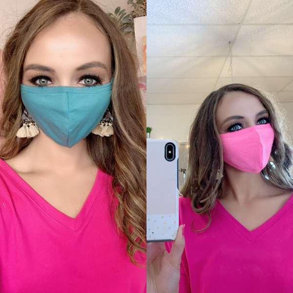 Cover Me Up Bright Face Masks *Final Sale*