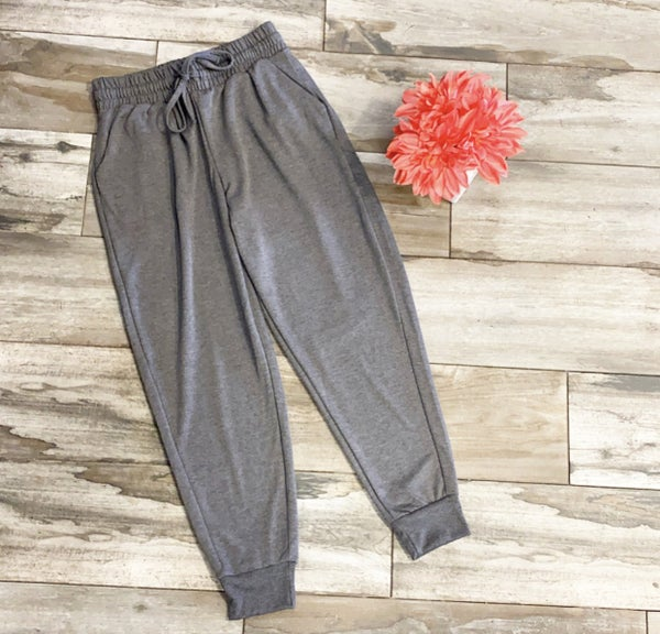 Spend Time Together Joggers Charcoal *Final Sale*