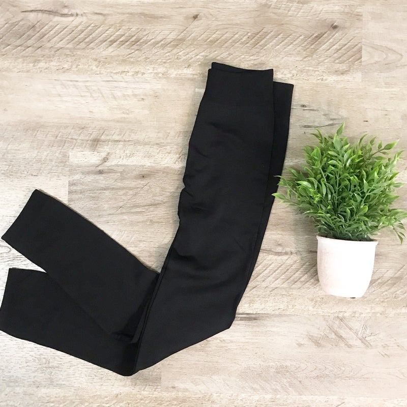Thick Black Leggings *Final Sale*