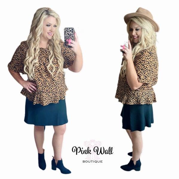 Classy Leopard Lady Top