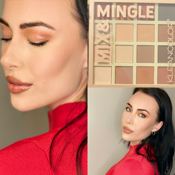 Beauty by Brittany Mix & Mingle 16 Shade Eyeshadow Palette - Matte Browns Shades