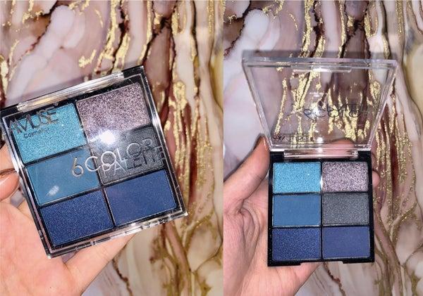Feeling the Blues 6 Color Eyeshadow Palette